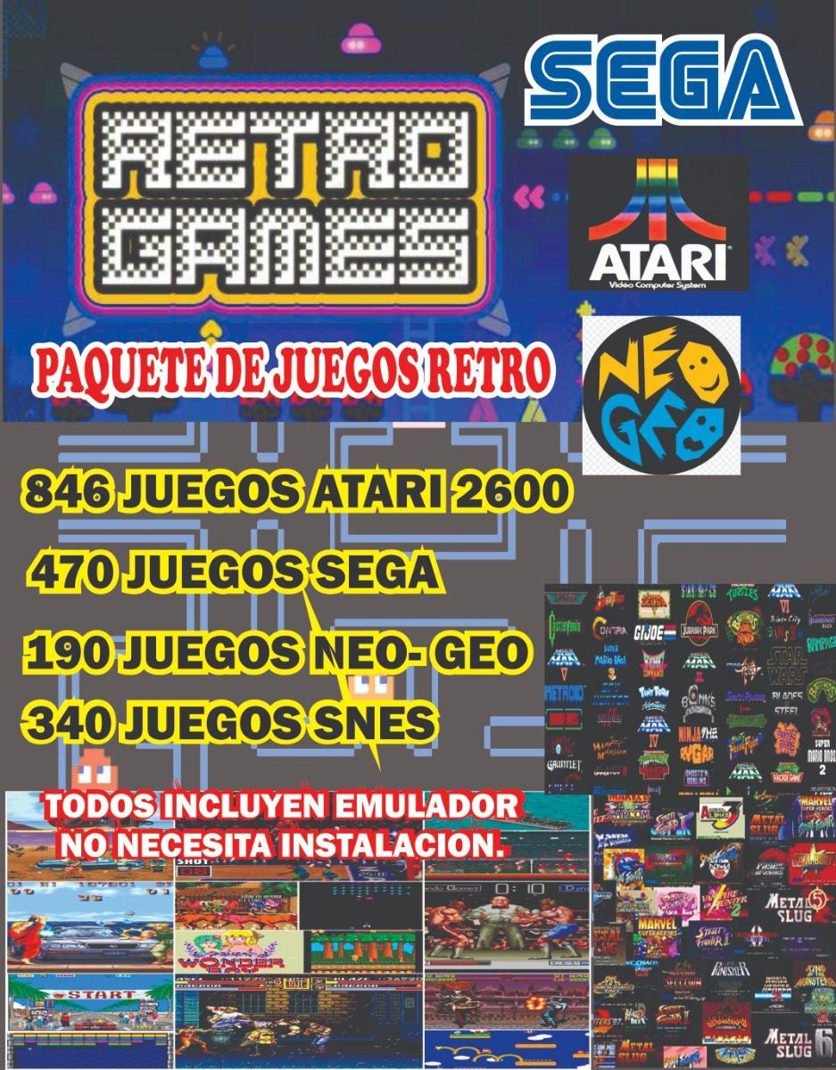 Pack De Juegos Retro Para Pc 150 00 En Mercado Libre