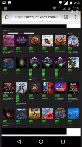 pack de juegos xbox one