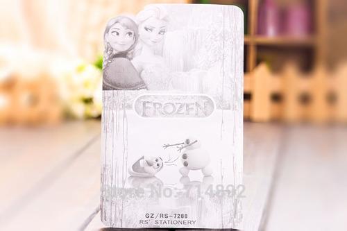 pack de lapices y libreta de frozen: lleva 2, paga 1
