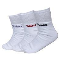 pack de meias wilson (3 meias brancas) 35 a 39
