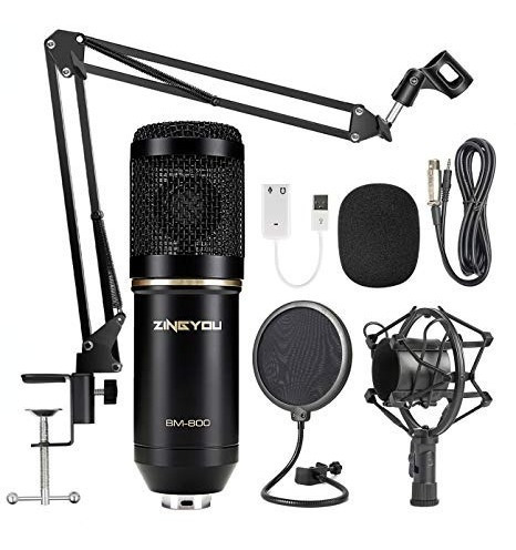 pack de microfonos condensador bm 800 original +envio (leer)