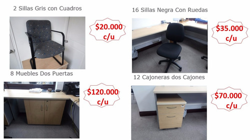 pack de muebles para oficina