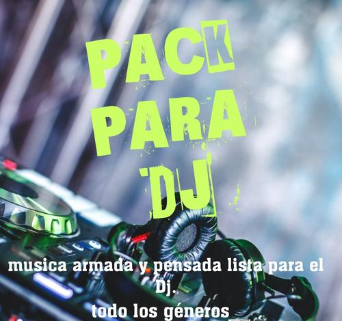 pack de musica para dj - 100 gb mp3