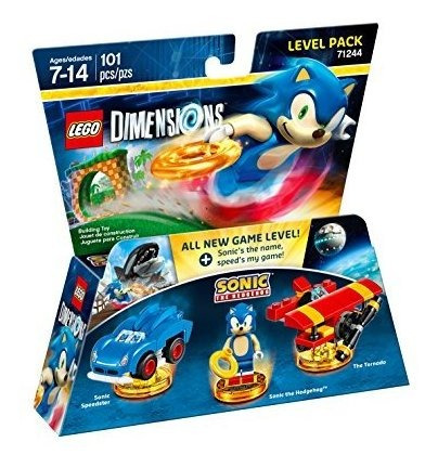 pack de nivel sonic the hedgehog - dimensiones lego