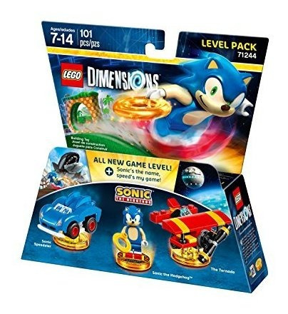 pack de nivel sonic the hedgehog - dimensiones lego