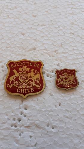 pack de pin solapa e insignia ejercito de chile