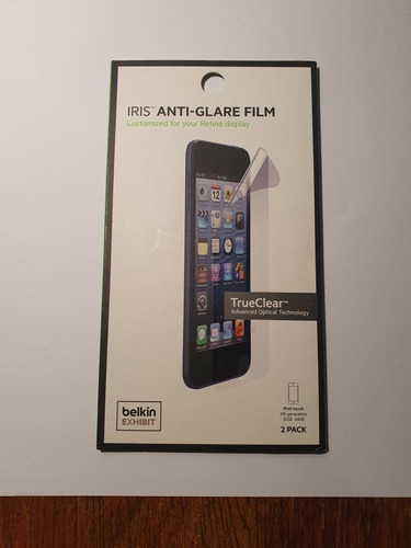 pack de protectores de pantalla belkin para ipod touch 5