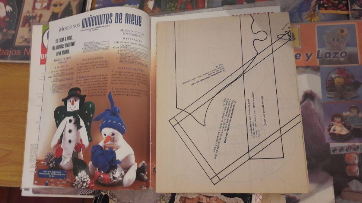 Pack De Revistas Fieltro Manta Manualidades Bordado 180 00 En