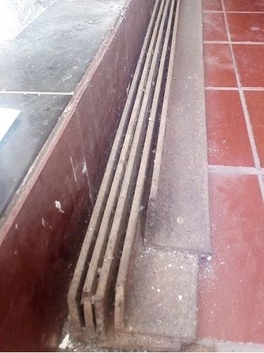 pack de vigas tipo angulo 2 pulgadas y media 65x65 mm