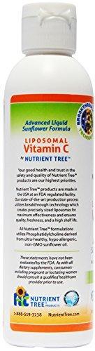pack de vitamina c 3 liposomal de árbol nutriente | sin alc