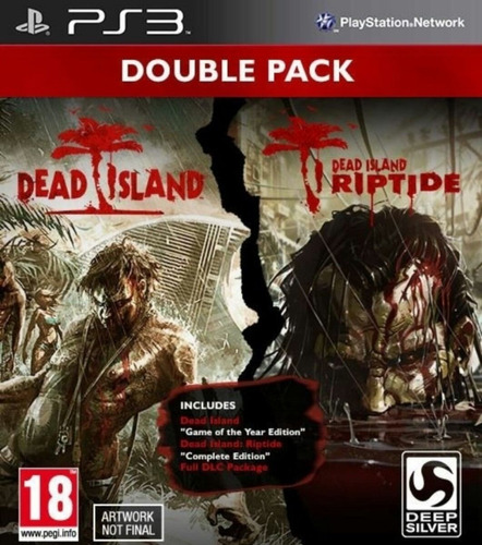 pack dead island + dead island riptide ps3 playstation 3