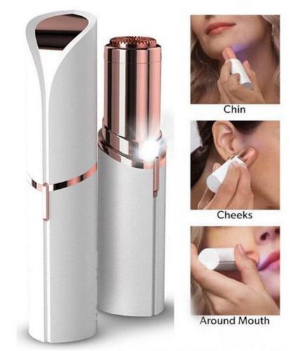 pack depilador cejas + depilador facial recargable usb