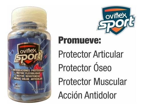 pack deportivo protector forte (forte x3 + oviflex sport x3)