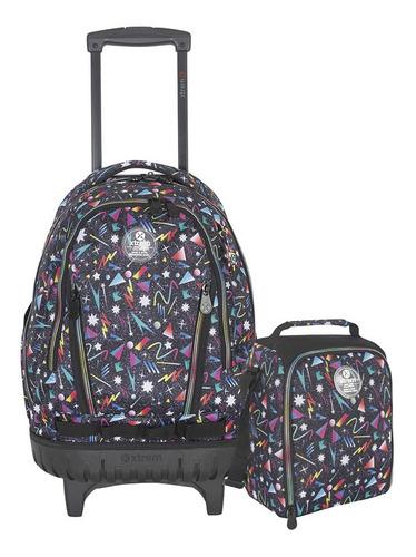 pack escolar cross pack 998 neon galaxy xtrem