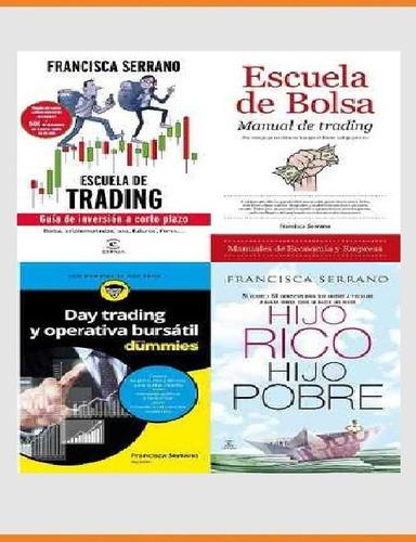pack especial 5 libros francisca serrano bolsa trading banca