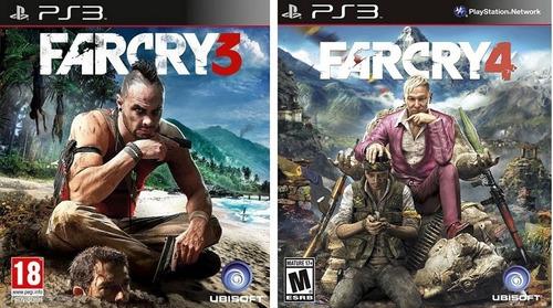 pack far cry 3 + far cry 4 ps3