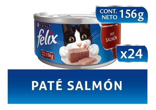pack felix® adultos paté de salmón 156 gr