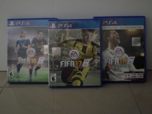 pack fifa 16 - 17 - 18 ps4