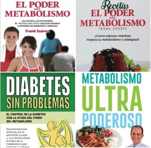pack frank suarez metabolismo ultra poderoso sus 5 libros