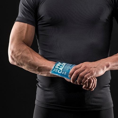 pack gel frío calor 13x13cm reutilizables inflamación lesion