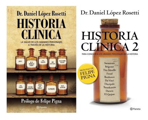 pack historia clínica 1 y 2 - daniel lopez rosetti