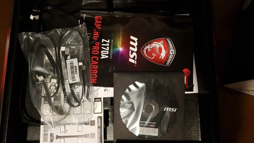 pack i7 6700 + z170a gaming pro carbon  y disipador stock