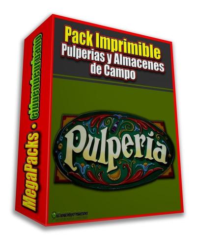 pack imprimible » pulperias y almacenes de campo argentinos