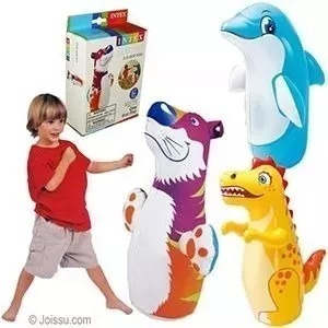 pack inflable pushing bag animales