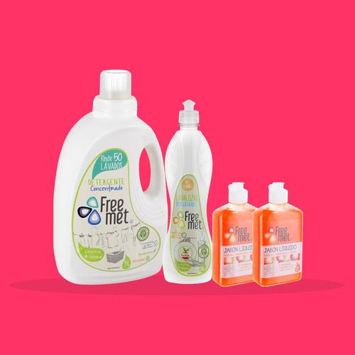 pack itata freemet detergente / ecológico hipoalergénico