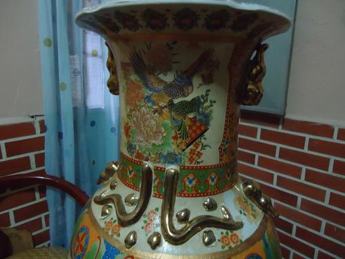 pack  jarrón  chino  en porcelana único estampado