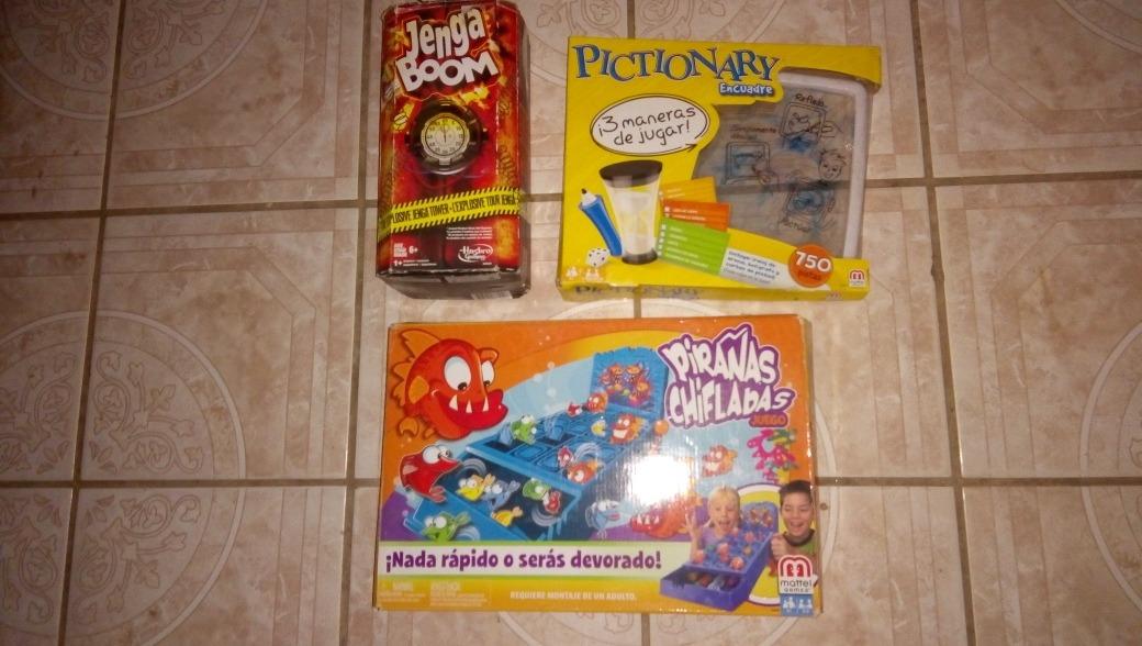 Pack Juegos De Mesa Baratos Para Navidad 699 00 En Mercado Libre