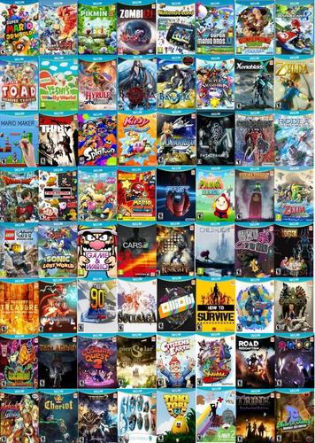 pack juegos digitales wii u. son mas de 130! oferta!
