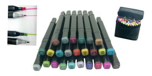 pack lápices marcadores 80 colors touchfive original