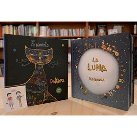 Pack Libro La Luna + Libro-disco Firmamento Del Dúo Karma