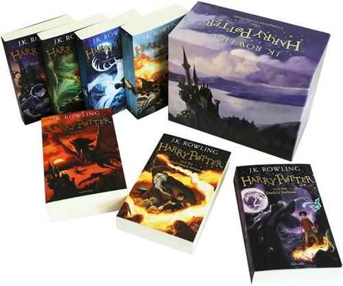 pack libros harry potter saga completa