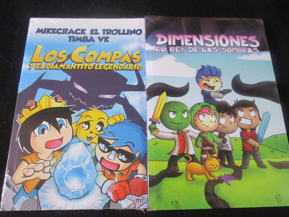Pack Libros Los Compas + Dimensiones + Envío Gratis