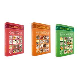 Pack Libros Técnicas De Cocina, Pastelería Panadería Mausi