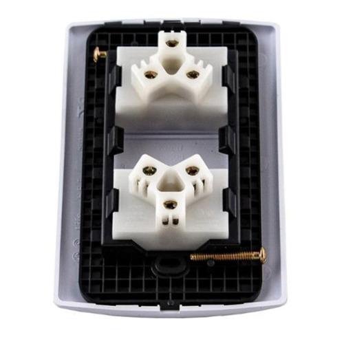 pack llave de luz sica armada life x10 2 modulos