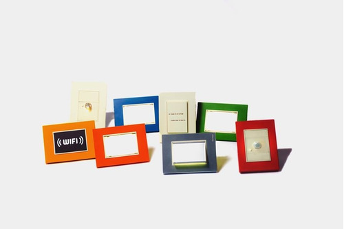 pack llaves cambre bauhaus tapas + modulos + bastidor