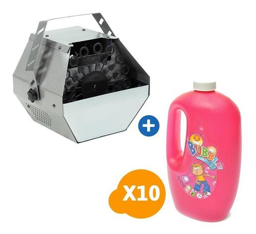 pack maquina de burbuja + 10 líquidos / c & s market