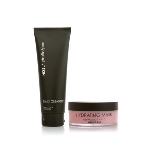 pack mascarilla hidratante/limpiador - bodyography skin