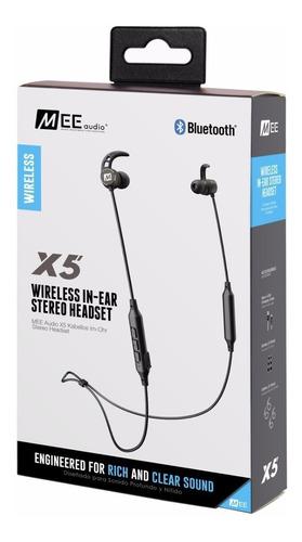 pack mee audio transmisor bluetooth + 2x auriculares mee x5