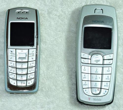 pack: nokia 3120 + nokia 6010, no operativos. colección