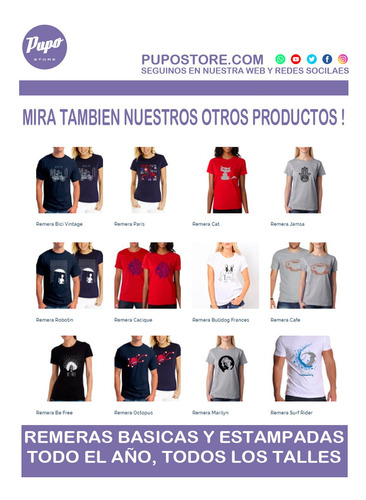 pack oferta x3 remera lisa talles especiales - 100% algodón