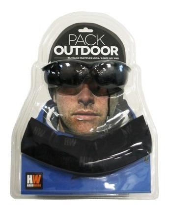 pack outdoor bandana + lente spy