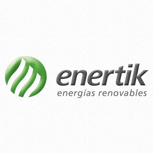 pack panel fotovoltaico 10w + regulador solar - enertik