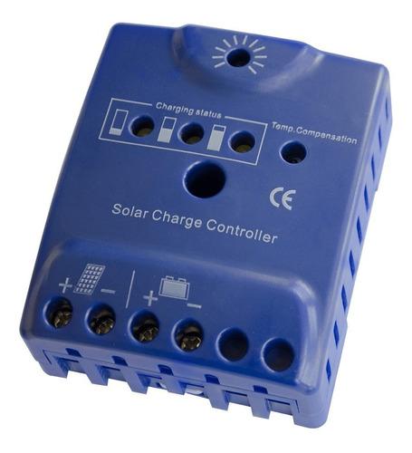 pack panel fotovoltaico 275w + regulador solar - enertik