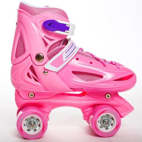 pack patin talla s 29-32 + casco+ set proteccion+ envio
