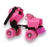 pack patines aprendizaje + set pro+casc  niñas/bazar james