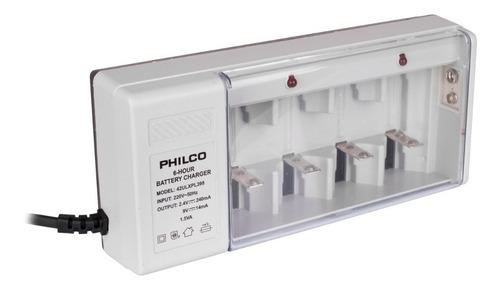 pack philco cargador de pilas + pilas aa - philco
